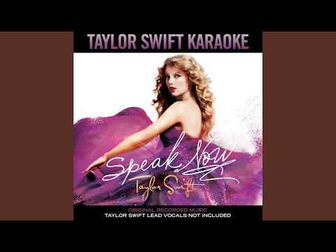Sparks Fly (Instrumental With Background Vocals)