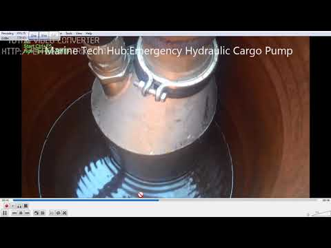 Emergency Hydraulic Cargo Pump Operation