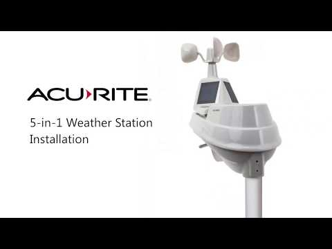 AcuRite Weather Station Setup And Install