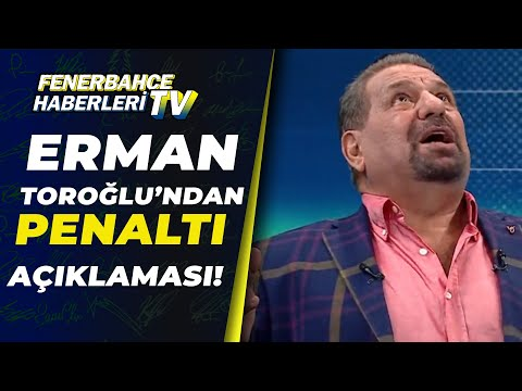 Denizlispor'un Kazandığı Penaltı Doğru Mu? Erman Toroğlu Yorumladı! / 06.12.2020