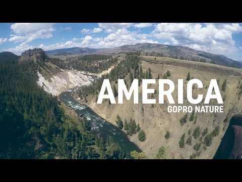 America Nature | Gopro HERO4 USA Road Trip | Glacier - Yellowstone - Grand Teton | 4K Resolution