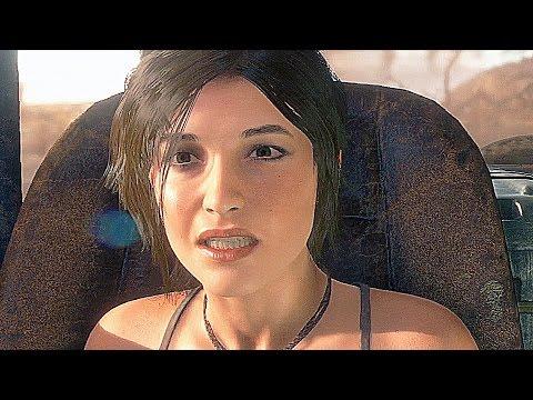 Rise Of The Tomb Raider All Cutscenes Movie