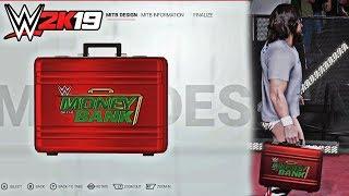 WWE 2K19 Create a MITB Briefcase & Money in the Bank Entrances feat. Daniel Bryan & Baron Corbin!