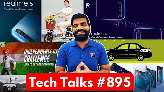 Tech Talks #895 - Realme 5 Price Confirm, Vivo Nex 3, Mate X Delay, PUBG Independence Challenge