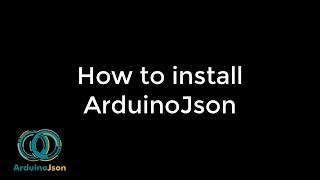 How to install ArduinoJson