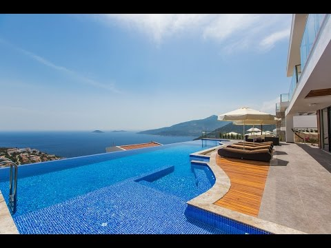Luxury Holiday Villa,Accomodation in Kalkan Turkey,Villa Myra Duo