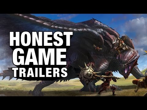 MONSTER HUNTER (Honest Game Trailers)
