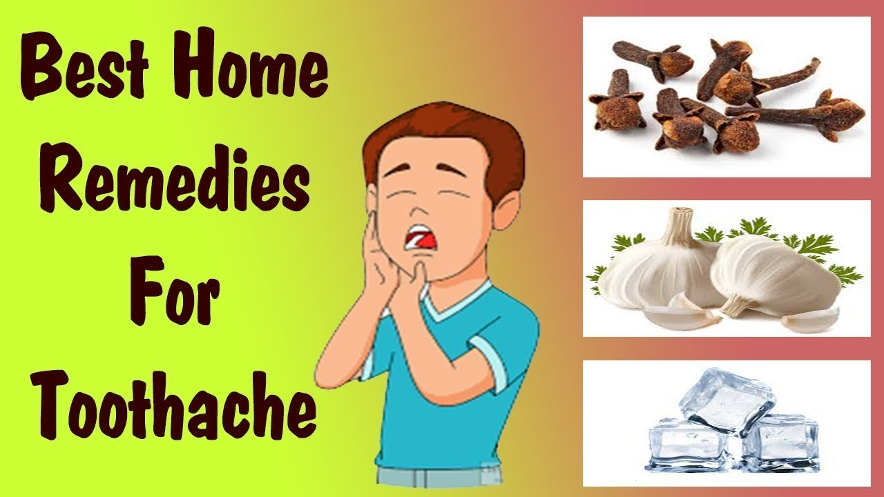 Natural Home Remedies Toothache Toothache Home Remedy