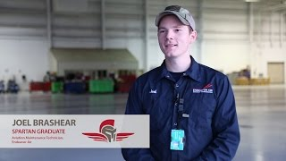 Aviation Maintenance Testimony | Joel Brashear | Spartan College
