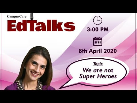 We are not Super Heroes | Fatema Agarkar | Founder | Agarkar Centre of Excellence