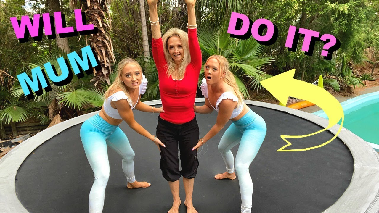 Teaching our Mum HOW to Backflip!
