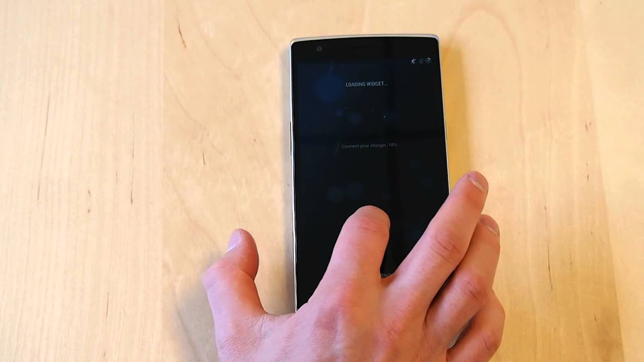 OnePlus One: Boot animation, boot, and reboot