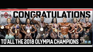 MR OLYMPIA 2018 WINNERS || All Category ||