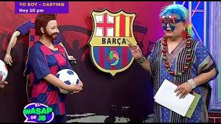 ¡Buscan al nuevo Lionel Messi para el Barcelona con casting dirigido por Gloria! - El Wasap de JB