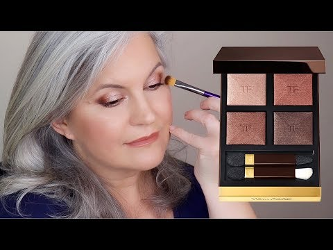 TOM FORD Body Heat Eyeshadow Palette Swatches And Makeup Look