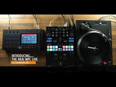 Mix - MPC LIVE performance with Bleiki and DJ X-Rated