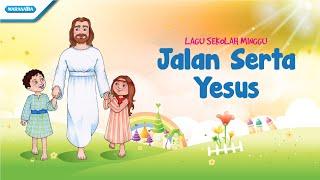 Gambar cover Jalan Serta Yesus - Lagu Sekolah Minggu - Maranatha Kids (Video)