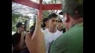 nitro vs soko - batalla de freestyle 2014