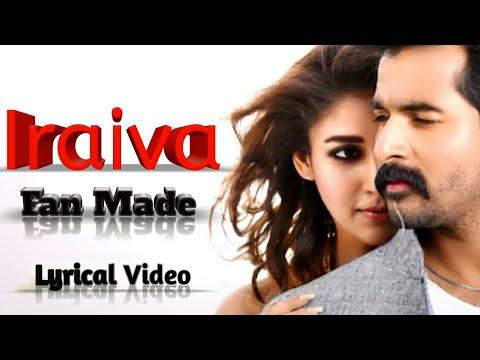 Iraiva|Velaikkaran|Anirudh Music|Sivakarthikeyan|Nayanthara