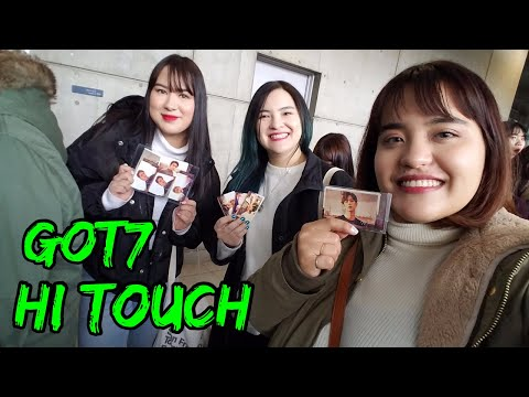I Met GOT7's Yugyeom, BamBam AND Mark! Hi Touch Event Japan