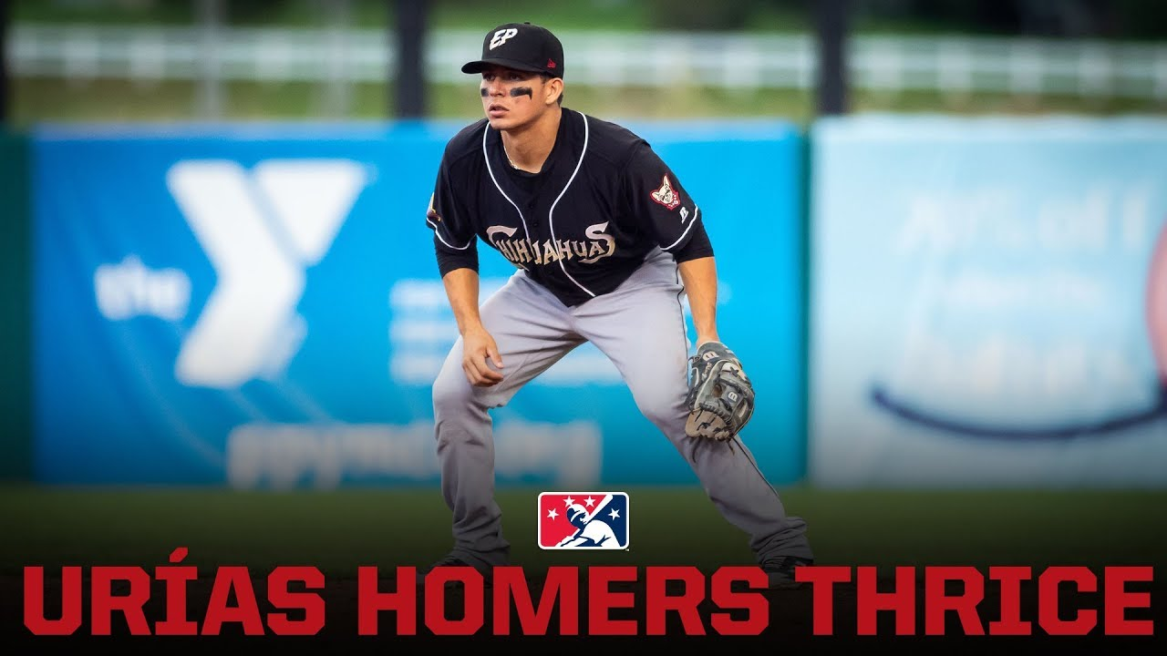 Luis Urías Homers Thrice for El Paso