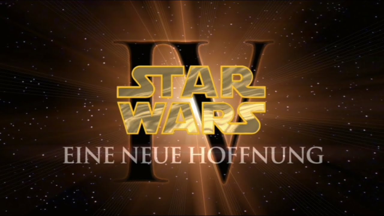 Star Wars Episode 4 Deutsch