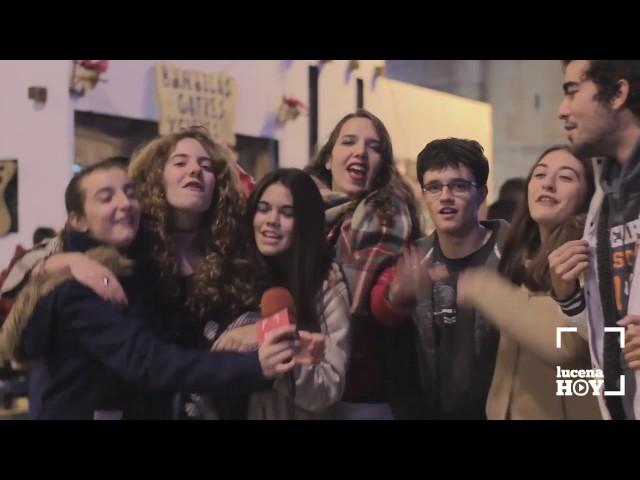 VÍDEO: ¿Cómo despedirán los lucentinos 2016? ¿Cómo recibirán 2017? ¿Qué piden al nuevo año? Te lo contamos en este vídeo