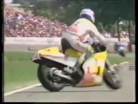Franco Uncini Scary Accident at Assen GP in 1983