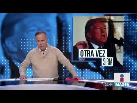 Estados Unidos, Francia y Reino Unido atacan Siria ¿cómo y por qué? | Noticias con Ciro