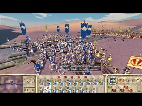 "Rome Total War Online Battle #2417: ""random bridge cross"""