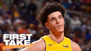 lonzo ball reveals what he learned from lavar and lebron james   first take   espn
