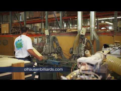 Olhausen Billiards & Manufacturing Marvels 1