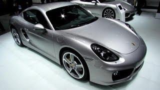 2013 Porsche Cayman S - Exterior and Interior Walkaround - 2013 Detroit Auto Show