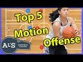 Top 5 Motion Offensive Basketball Plays