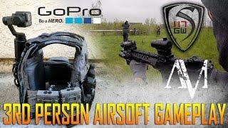 3RD PERSON AIRSOFT GAMEPLAY SETUP & GOPRO KARMA GRIP  - SPARTAN117GW