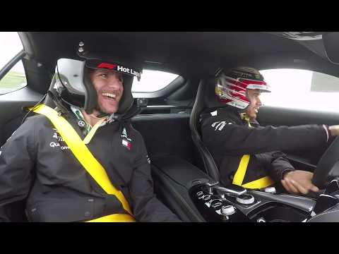 Epic COTA Hot Lap Ride with Lewis Hamilton