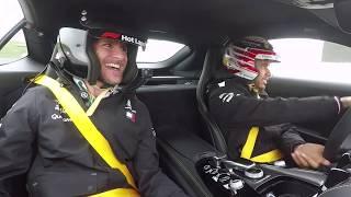 Epic COTA Hot Lap Ride with Lewis Hamilton
