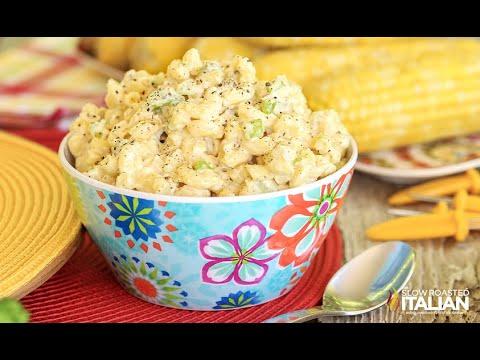 Southern Style Macaroni Salad