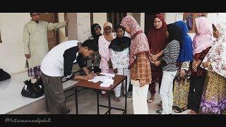 Bagi Sembako Janda Lansia dan Abang Becak Pertahanan Plaju Palembang