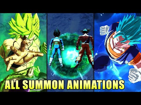 All Summon Animations 2020 May - Dragon Ball Legends