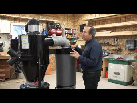 Dust FX 2HP Cyclone Dust Collector Review - YouTube