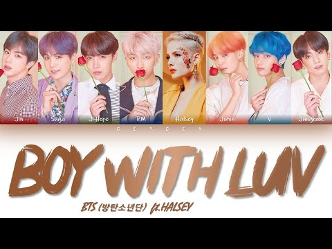 BTS (방탄소년단) - 'BOY WITH LUV (작은 것들을 위한 시) feat. Halsey' [HAN|ROM|TÜRKÇE ALTYAZILI]