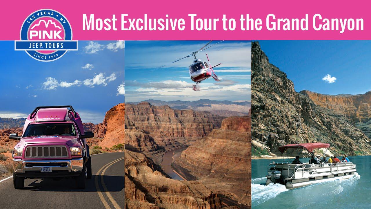 Las Vegas Tours | Grand Canyon West Rim | Pink Jeep Tours   YouTube
