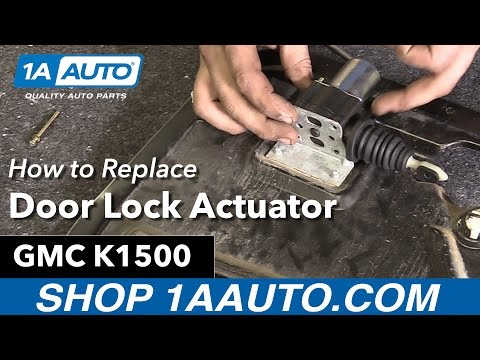 How to Replace Door Lock Actuator 88-00 GMC K1500