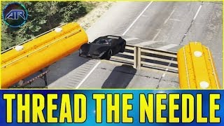Grand Theft Auto 5 Online : Thread The Needle + Jumps Jumps Jumps