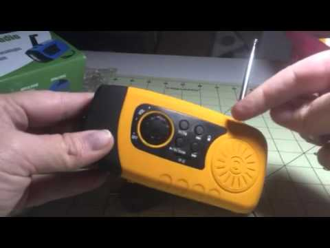 Outad 3-in-1 Flashlight/MP3/FM Player/Power Bank