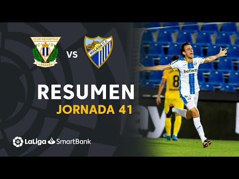 Leganes Malaga Goals And Highlights