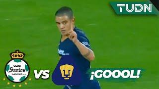 ¡Pumas anota y no se da por vencido! | Santos 4 - 1 Pumas | Copa MX - 8vos Ida | TUDN