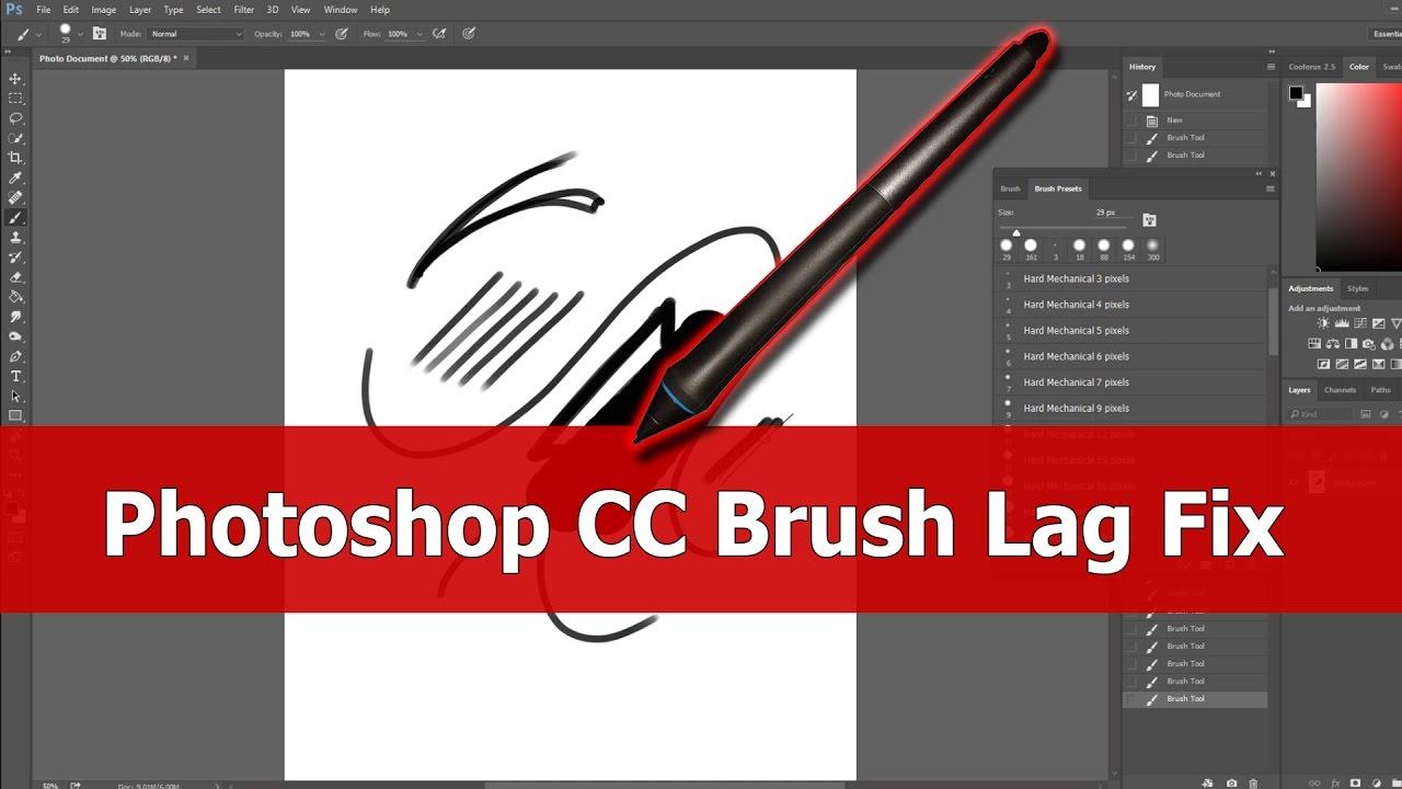 photoshop cs2 slow on windows 10
