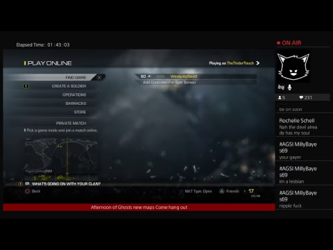 PS4 Ghosts gameplay on Friday afternoon shortStream